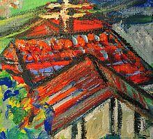 Our Neighbourhood 5 by Julie-Ann Vellios