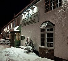 Exeter Inn in the snow by Rob Hawkins