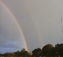 Pot of gold - Pacific Highway and Bucketts Way, Raymond Terrace by orkology