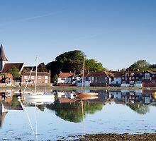 Bosham Village West Sussex England by Jim Hellier