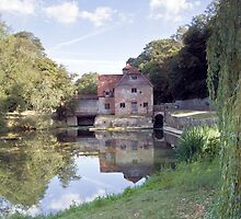 Mapledurham Water Mill Oxfordshire England by Jim Hellier