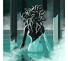 medusa in the spa Photographic Print