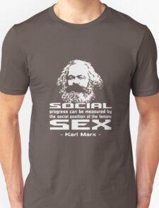 KARL MARX QUOTES 2 HELL YEAH BALCK T-Shirt