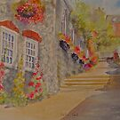 Bottom of Church hill- Hythe- Kent by Beatrice Cloake Pasquier