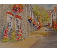 Bottom of Church hill- Hythe- Kent Photographic Print