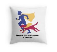 An Autism Service Dog For Max Throw Pillow