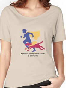An Autism Service Dog For Max Women's Relaxed Fit T-Shirt