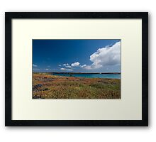 Island of Colours Framed Print