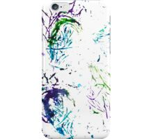 Watercolor abstract strokes iPhone Case/Skin