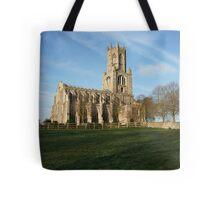 Fotheringhay Church Tote Bag