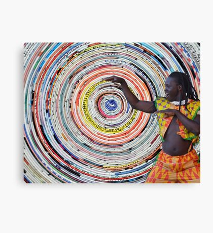African dance Canvas Print