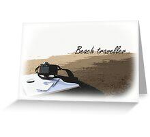 Beach Traveller Greeting Card