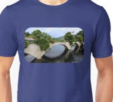 The Bridge of Flowers ~ A Rustic Beauty Unisex T-Shirt