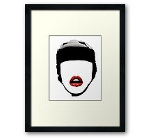 Rugby Girl! Framed Print