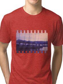 Blue sunset  Tri-blend T-Shirt