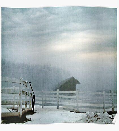 Blue Fog V Poster