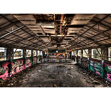 The warehouse Photographic Print