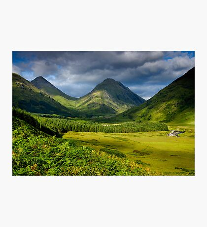 Glen Etive Photographic Print