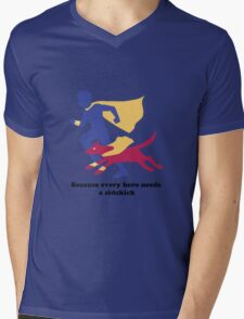 An Autism Service Dog For Max - Version 2 Mens V-Neck T-Shirt
