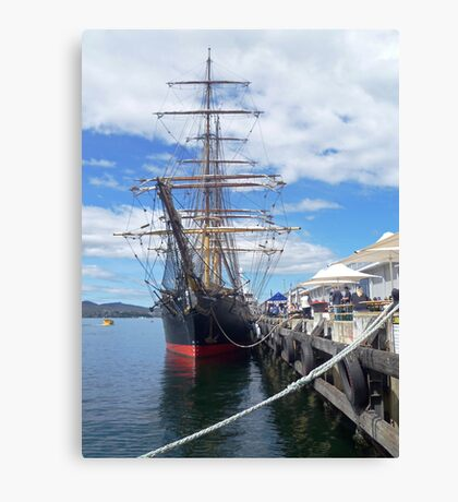 "1874 Barque ""James Craig"" Canvas Print"