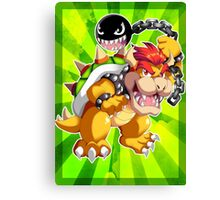 Super Mario RPG: Bowser Canvas Print