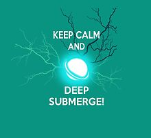 Keep Calm and Deep Submerge - Sailor Moon by SClarkeArt