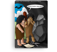 Caveman Inventions by Londons Times Cartoons Canvas Print