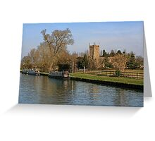 St Mary's, Frampton-on-Severn Greeting Card