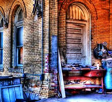 Old Train Depot - Weatherford, Texas by jphall