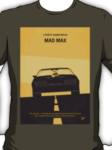 No051 My Mad Max 1 minimal movie poster T-Shirt