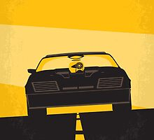 No051 My Mad Max 1 minimal movie poster by JinYong