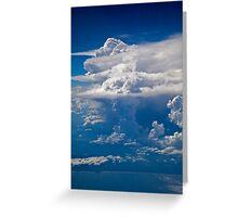 Mushrooms in the Sky Greeting Card
