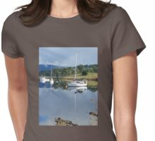 Reflections - Huon Valley, Tasmania Womens Fitted T-Shirt