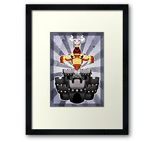 Super Mario RPG: Exor Framed Print