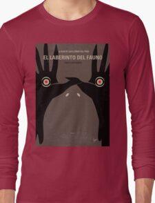 No061 My Pans Labyrinth minimal movie poster Long Sleeve T-Shirt