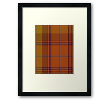 00424 A Star is Born Tartan  Framed Print