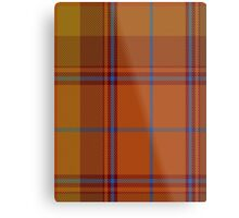 00424 A Star is Born Tartan  Metal Print