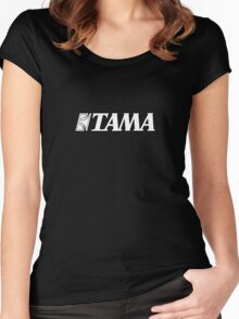 Tama White Women's Fitted Scoop T-Shirt