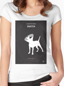 No079 My Snatch minimal movie poster Women's Fitted Scoop T-Shirt