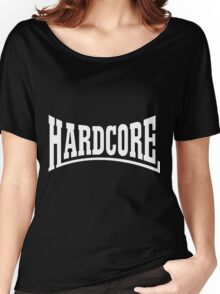 Hardcore Rulezz!!! Women's Relaxed Fit T-Shirt