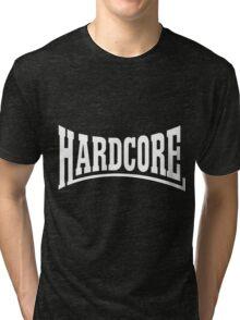 Hardcore Rulezz!!! Tri-blend T-Shirt