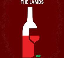 No078 My Silence of the lamb minimal movie poster by JinYong