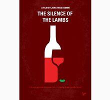 No078 My Silence of the lamb minimal movie poster T-Shirt