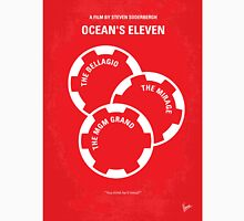 No056 My Oceans 11 minimal movie poster T-Shirt