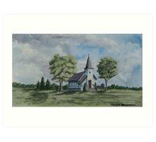 Chapel In Summer Art Print