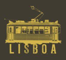 Lisboa yelow by Vintage Tees