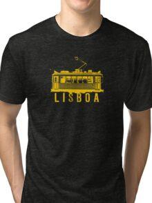 Lisboa yellow Tri-blend T-Shirt