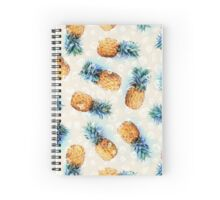 Pineapples + Crystals Spiral Notebook