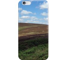 A view across the Moors iPhone Case/Skin