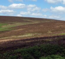 A view across the Moors Sticker